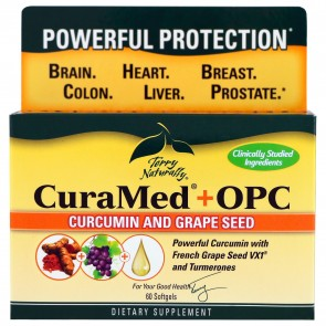 Terry Naturally CuraMed + OPC 60 Softgels