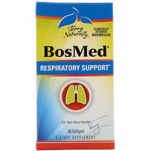 Terry Naturally BosMed Respiratory Support 60 Softgels