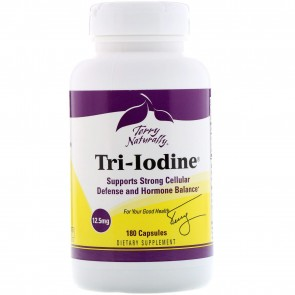 Terry Naturally Tri-Iodine 12.5 mg 180 Capsules