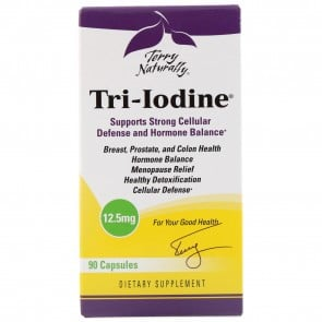 Terry Naturally Tri-Iodine 12.5mg 90 Capsules