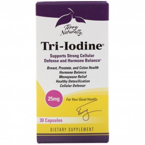 Terry Naturally Tri-Iodine 25mg 30 Capsules