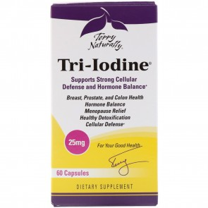 Terry Naturally Tri-Iodine 25mg 60 Capsules