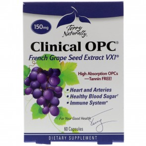 Terry Naturally Clinical OPC 150 mg 60 Capsules