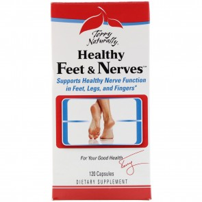 Terry Naturally Healthy Feet & Nerves 120 Capsules