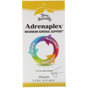 Terry Naturally Adrenaplex 120 Capsules