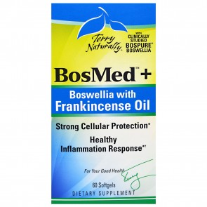 Terry Naturally BosMed + Boswellia with Frankincense Oil 60 Softgels
