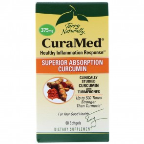 Terry Naturally CuraMed 60 Softgels (375mg)