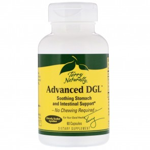 Terry Naturally Advanced DGL 60 Capsules