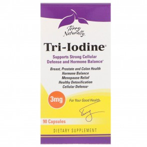 Terry Naturally Tri-Iodine 3mg 90 Capsules