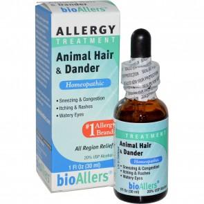bioAllers Allergy Treatment All Region Relief Animal Hair & Dander 1 fl oz