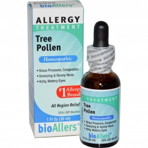 bioAllers Allergy Treatment All Region Relief Tree Pollen 1 fl oz