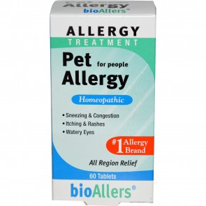 Bio-allers 60 Tablets Pet Allergy Pet Allergy Relief