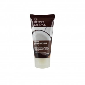 Coconut Hand and Body Lotion Travel Size