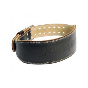 """Harbinger Padded Leather 4"""" Belt S"""