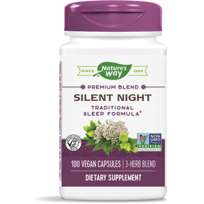 Nature's Way Silent Night 100 Capsules