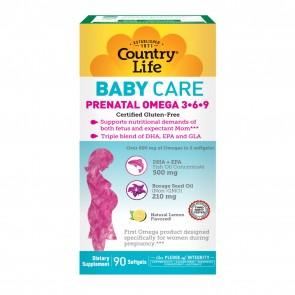 Country Life Prenatal Omega Mom 90 Softgels