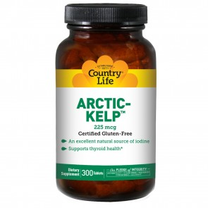 Country Life Artic Kelp 300 Mcg 300 Tablets