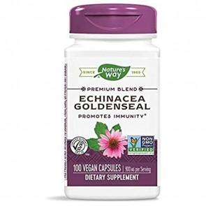 Nature's Way Echinacea Goldenseal Root 100 Capsules