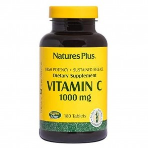 Nature's Plus Vitamin C 1000 mg 180 Tablets