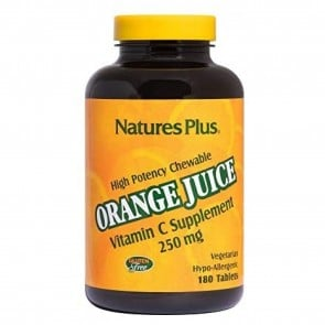 Natures Plus Orange Juice Vitamin C 250 mg