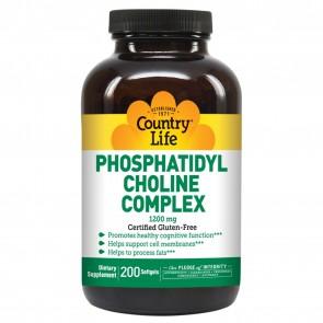 Country Life Phosphatidyl Choline 200 Softgels