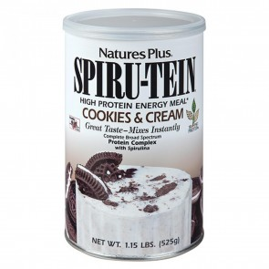 Spiru Tein High Protein Cookies and Cream 1 lbs | Spiru Tein High Protein Cookies and Cream