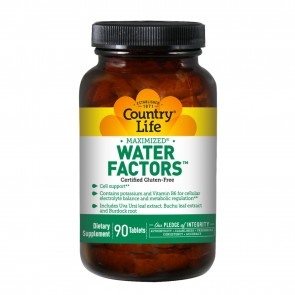 Country Life Water Factors 90 Tablets