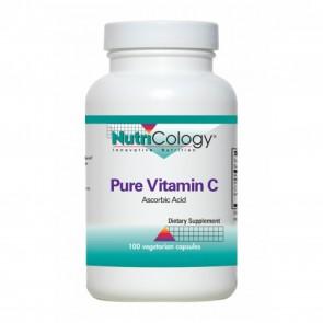NutriCology Pure Vitamin C 100 Vegetarian Capsules