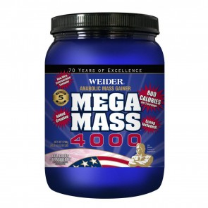 Weider Mega Mass 4000 Delicious Strawberry 1.98 lbs
