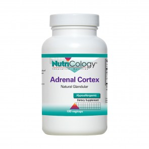 Nutricology Adrenal Cortex 100 Mg 100 Vegicaps