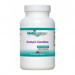 Nutricology Acetyl-L-Carnitine 500 Mg 100 Vegetarian Caps