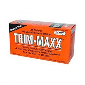 Body Breakthrough Trim-Maxx Men and Woman Orange Peel 30 Tea Bags