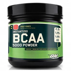 Optimum Nutrition Instantized BCAA 5000 Powder Fruit Punch 13.40 oz (380 Grams)