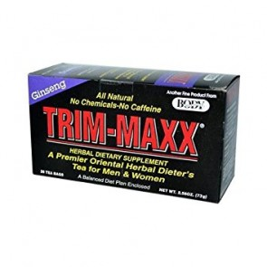 Body Breakthrough Trim-Maxx Ginseng 30 Tea Bags (2.11 oz)