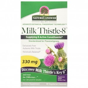 Natures Answer Milk Thistle 8