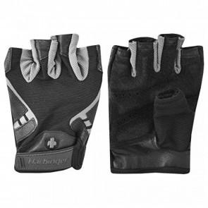 Harbinger Men's Pro Gloves Black/Grey (Medium)
