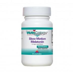Nutricology Slow Motion Melatonin 60 Tablets