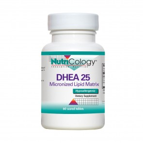 Nutricology Dhea 25Mg Sust Release 60 Tablets