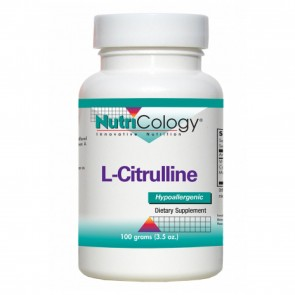 Nutricology L-Citrulline Powder 100 Grams (3.5 oz.)