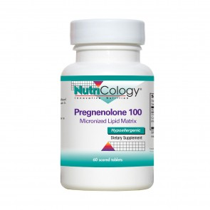 Nutricology Pregnenolone100Mg Sust Release 60 Tablets