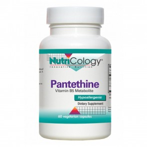 Nutricology Pantethine 60 Vegetarian Capsules