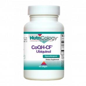 Nutricology CoQH-CF Ubiquinol 60 Softgels