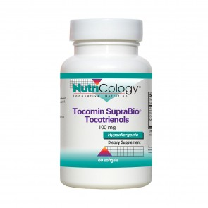 Nutricology Tocomin Suprbio Tocotrienols 100Mg 60 Softgels