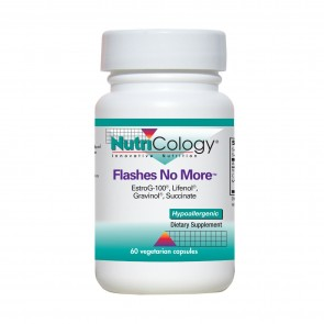 Nutricology Flashes No More 60 Vegicaps