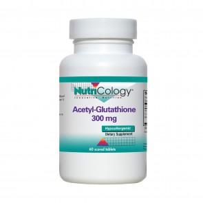 Nutricology Acetyl-Glutathione 300Mg 120 Tablets