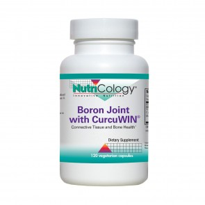 Nutricology Boron Joint With Curcuwin 120 Vegicaps