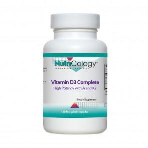 Nutricology Vitamin D3 Complete 120 Vegicaps