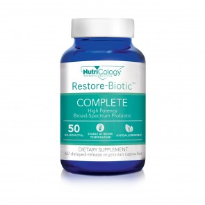 Nutricology Restore-Biotic Complete 60 Vegicaps