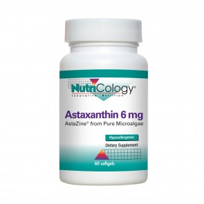 Nutricology Astaxanthin 6 Mg 60 Softgels