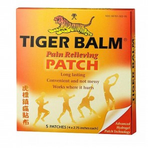 Tiger Balm Pain Relieving Patch 5 Patches